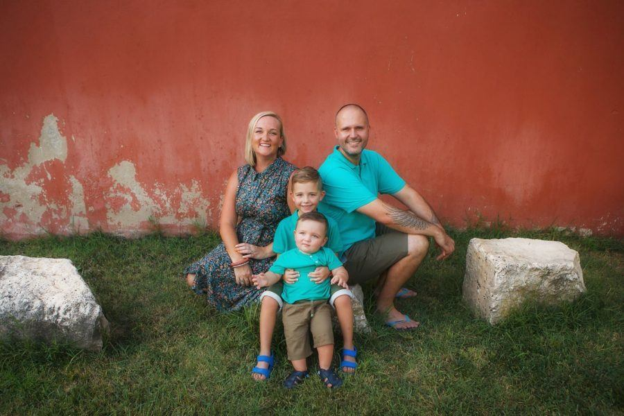 Begonja Family. Mate, Sj, Roko, Vladimir - Family Photo Shot6