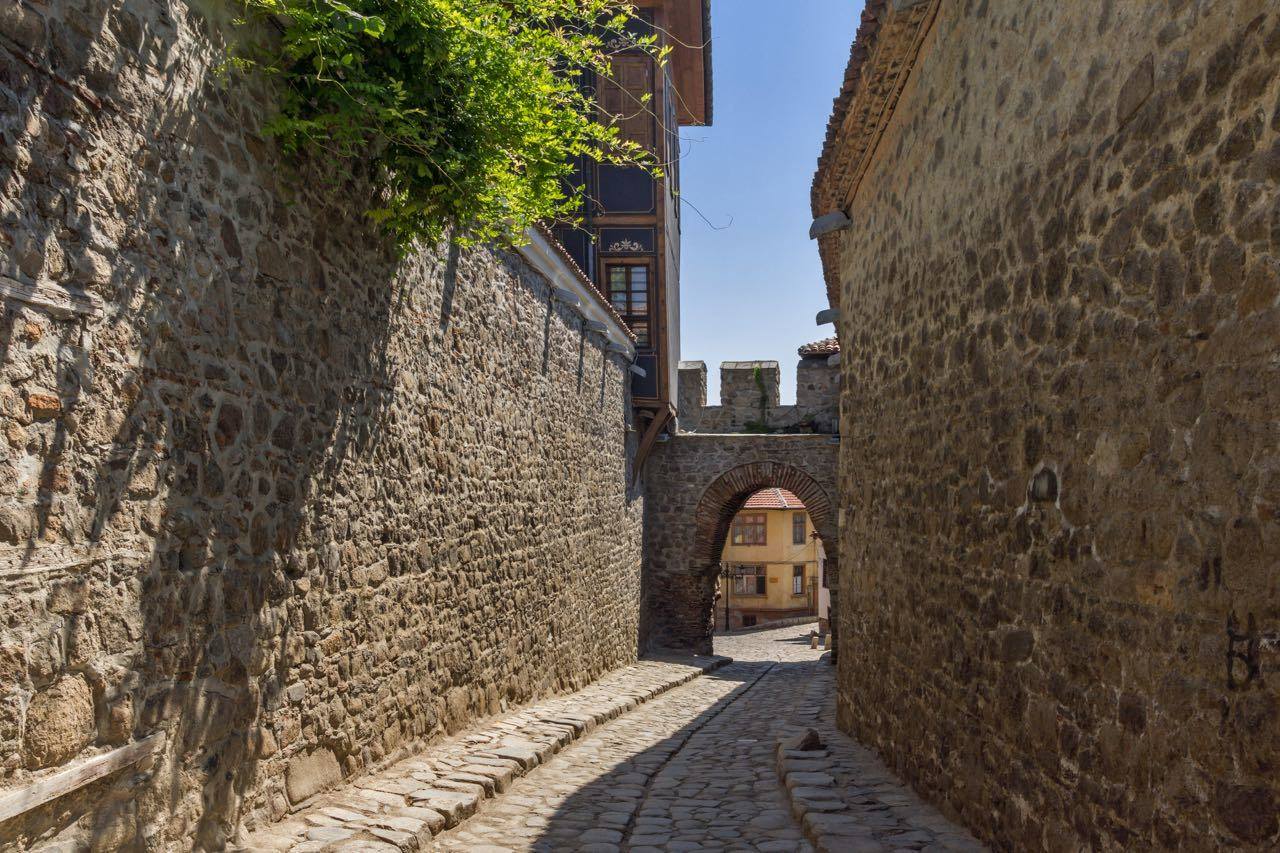 Things To Do In Plovdiv, Bulgaria - Hisar Kapia - Ancient gate in Plovdiv old town Bulgaria