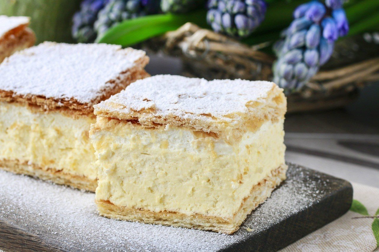 Kremšnite Recipe_Croatian Custard Slice