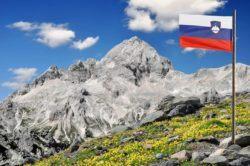 Mount Triglav in the Julian Alps Slovenia
