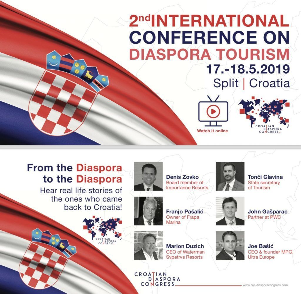Croatian Diaspora Conference - Split 2019