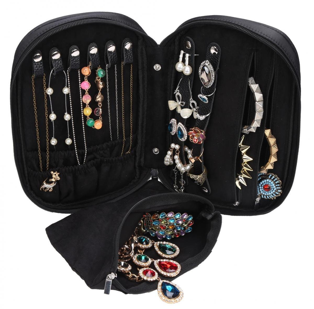 2020 Guide To The Best Travel Jewelry Organizers Chasing The Donkey