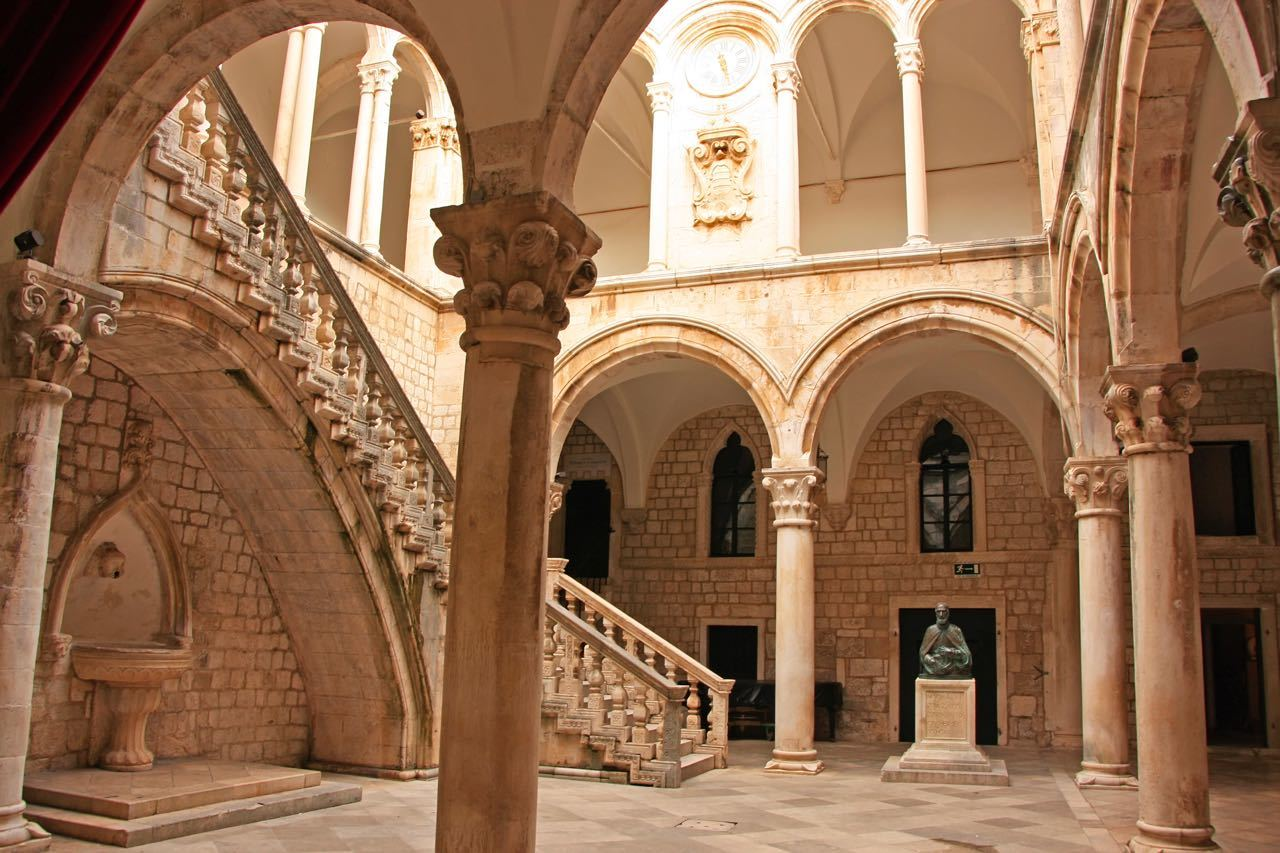 Games of Thrones Locations Croatia - Atrium, Rector's palace, Old Town, Dubrovnik, Croatia