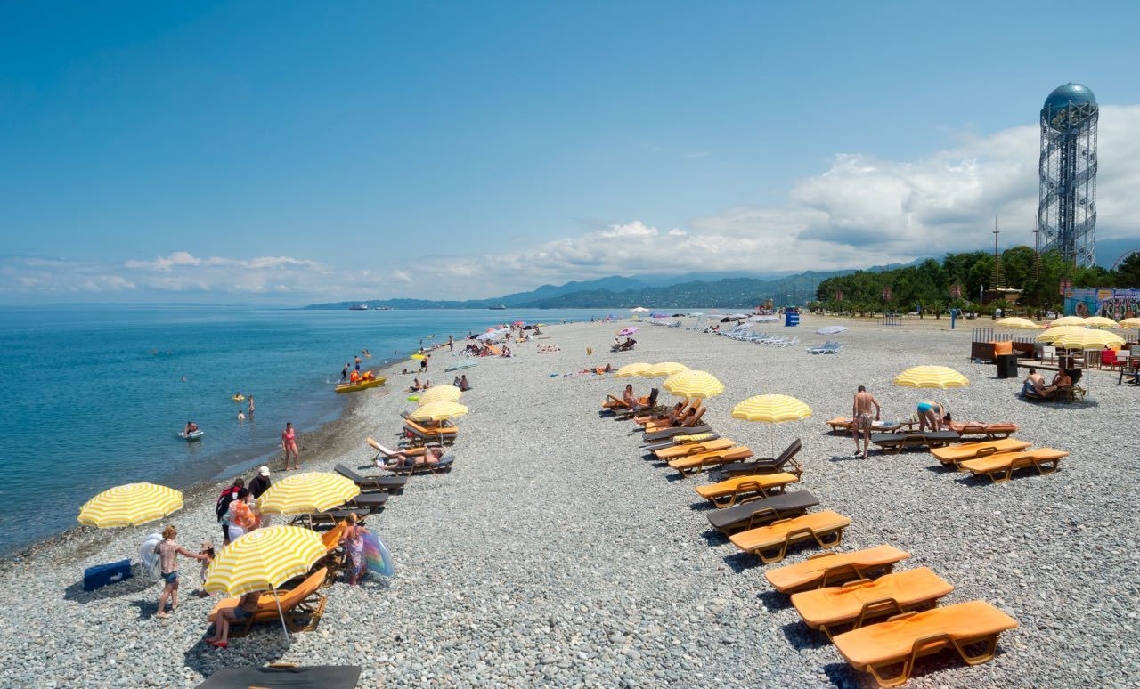 Best Black Sea Beaches - Batumi Beach