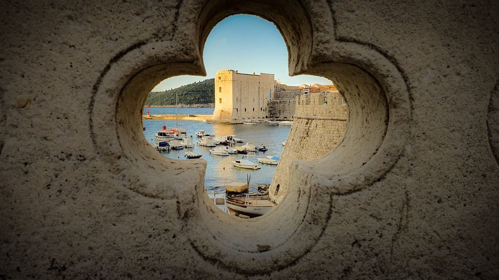 Early morning in Dubrovnik