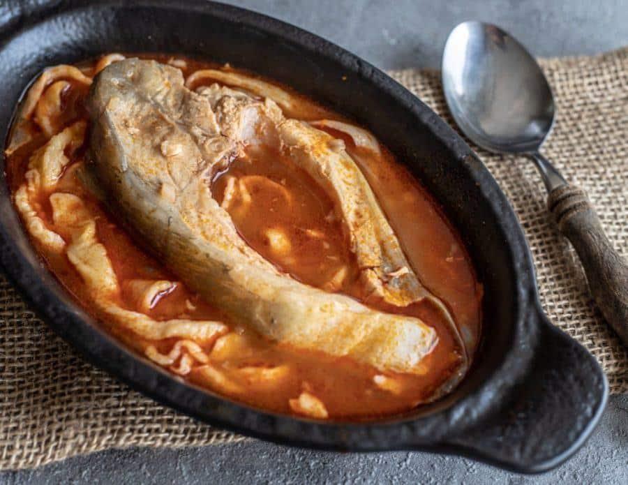 Serbian Food - Fis Paprikas