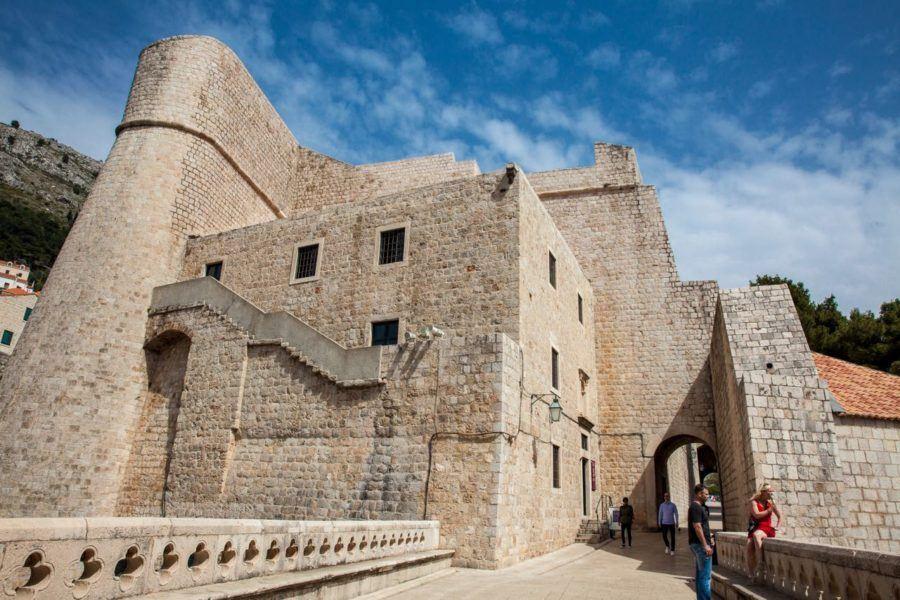 Revelin-Tower-at-Ploce-Gate-Dubrovnik-Croatia