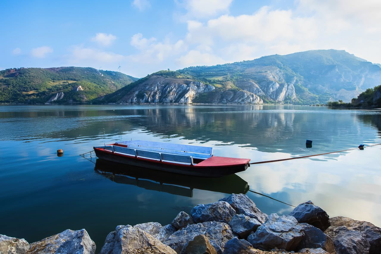 Serbian National Parks_River Danube entry in National Park Djerdap in Serbia