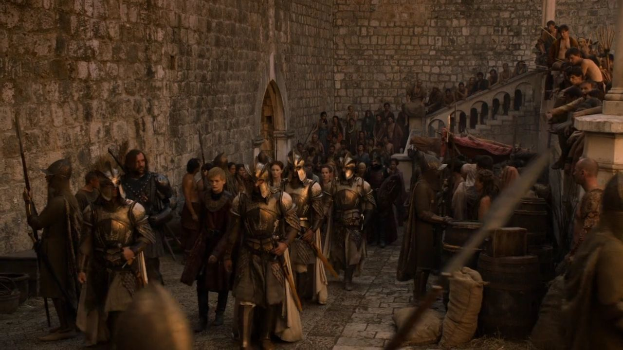 S2 E6 Riots in King's Landing - GoT Dubrovnik Locations
