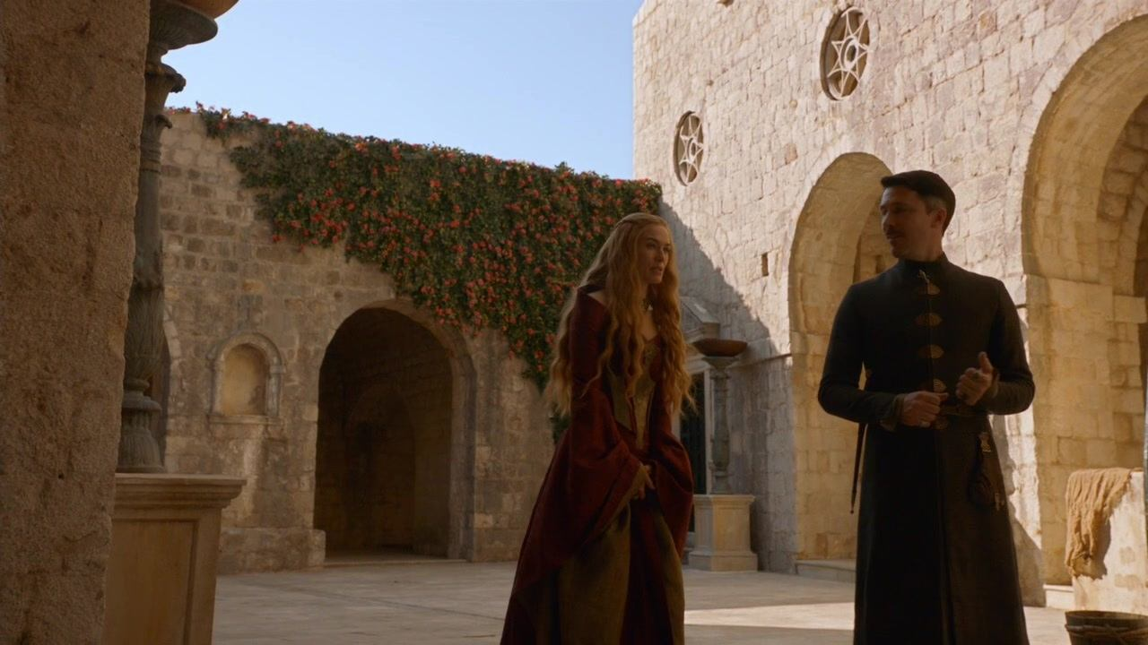 S3 E5 Cersei and Littlefinger talk in Fort Lovrijenac