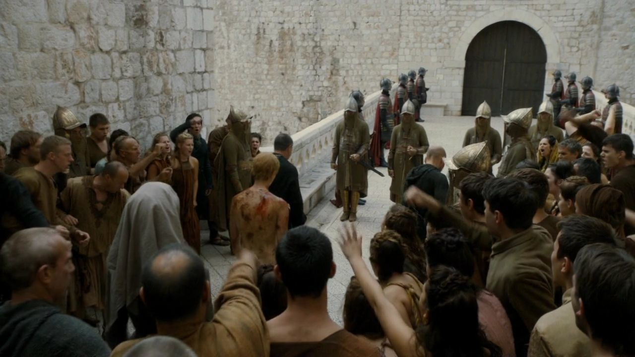 S5 E10 Cersei's Walk of Shame at Ploče Gate, Dubrovnik, Croatia Game of Thrones