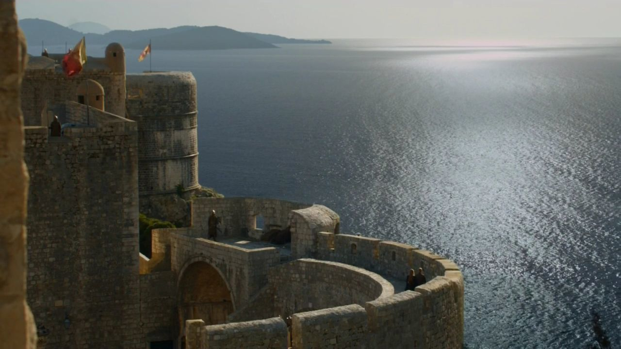 S5 E3 King's Landing City Walls of Dubrovnik