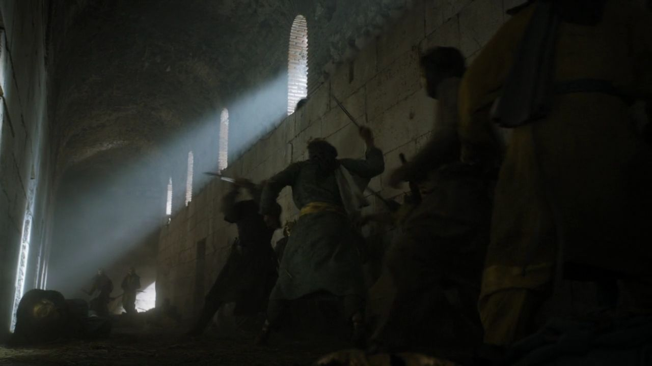 S5 E4 Sons of the Harpy Fight - Game of Thrones Split Croatia