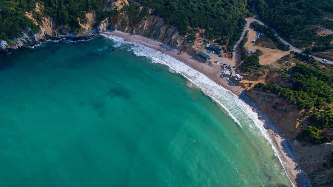 Best Black Sea Beaches - Sinemorec Rocks - Sile Beach Turkey