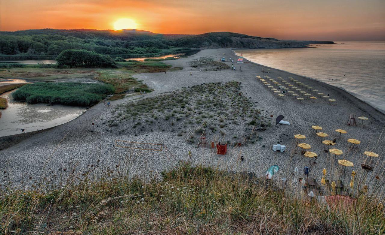 Best Black Sea Beaches - Veleka Beach At Sunset