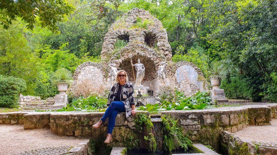 Trsteno Arboretum, Croatia - Highgarden Location Fountain