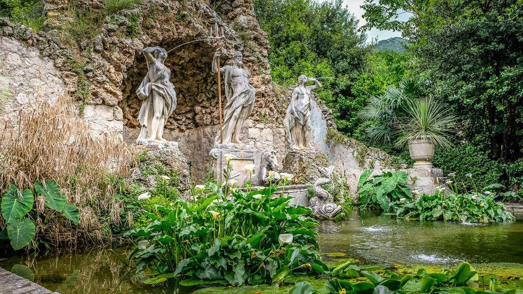 Trsteno Arboretum - King's Landing Gardens Fountain (1)