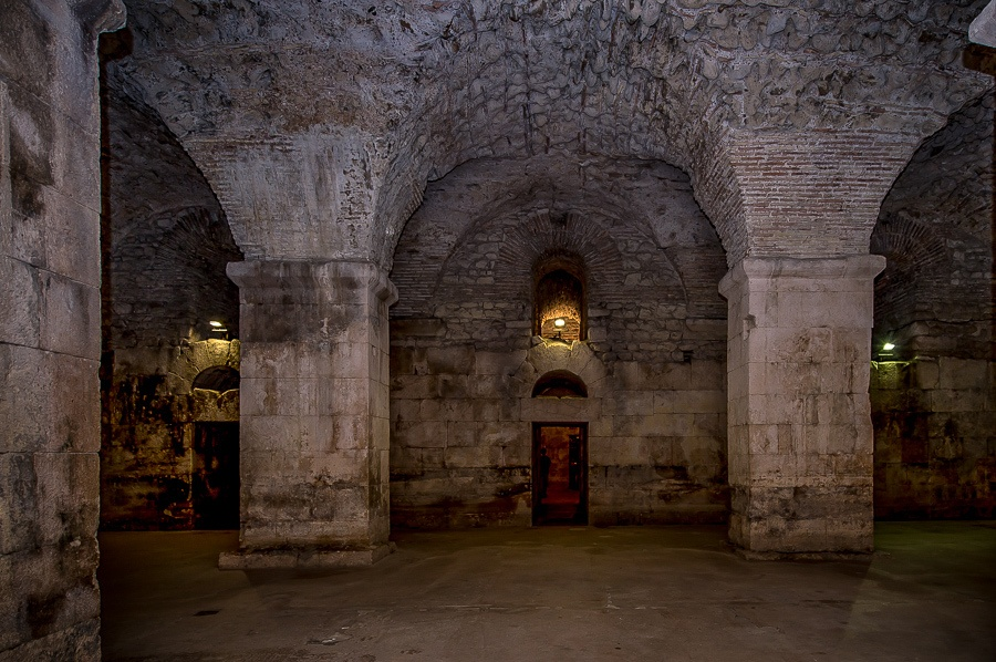 Game of Thrones Croatia - Underground of Diocletian Palace, Spli