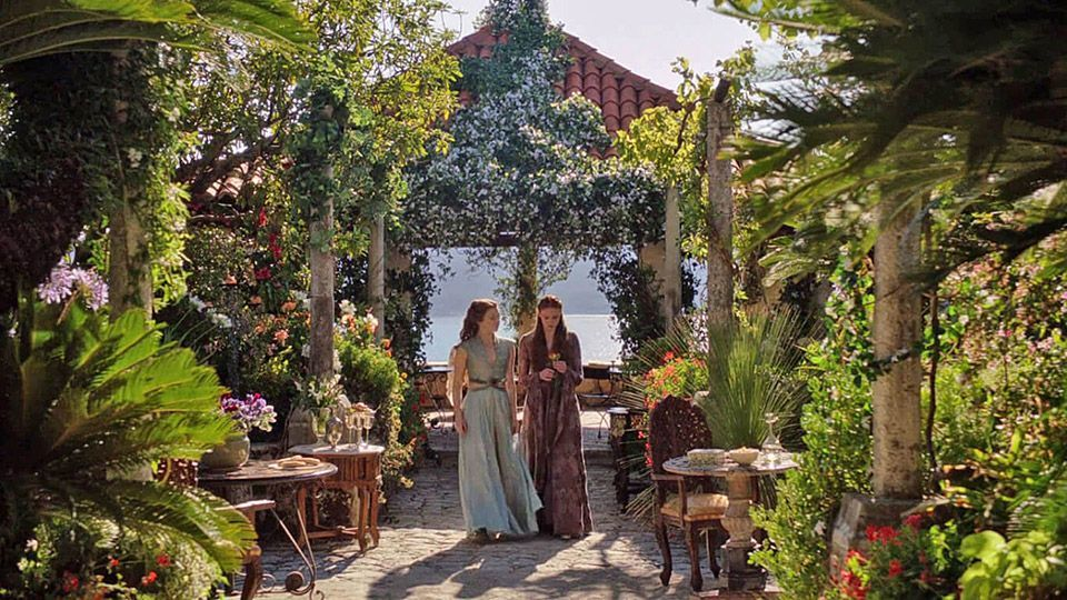 S4 E4 Lady Olenna and Margaery Tyrell have a chat about Joffrey and Tommen