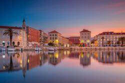 Split Or Zadar - Split Croatia at sunrise