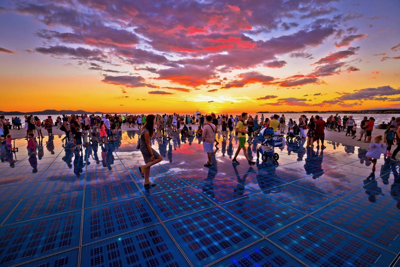 Split or Zadar - Zadar Greeting to the sun