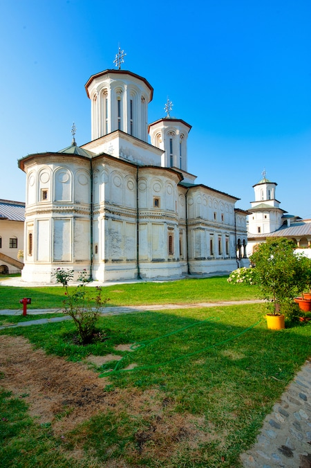Horezu monastery in Romania - World heritage Sites Romania