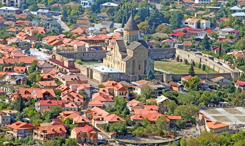 Svetitskhoveli Cathedral in Mtskheta, Georgia - Best Places to Visit in Georgia Country