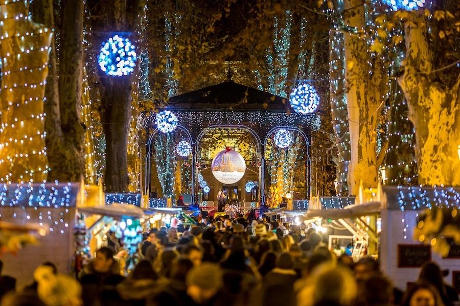 Advent In Zagreb Christmas_Advent In Zrinjevac