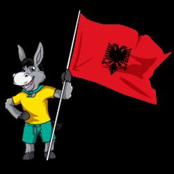 Balkan Flags_Albania 2