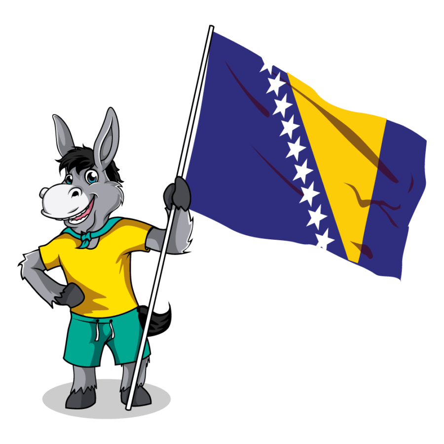 Balkan Flags_Bosnia-Herzegovina 1