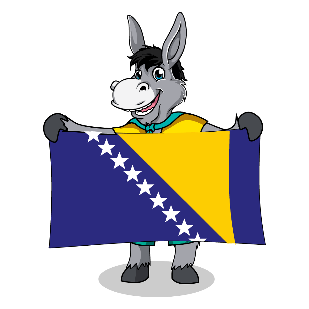Balkan Flags_Bosnia-Herzegovina 2