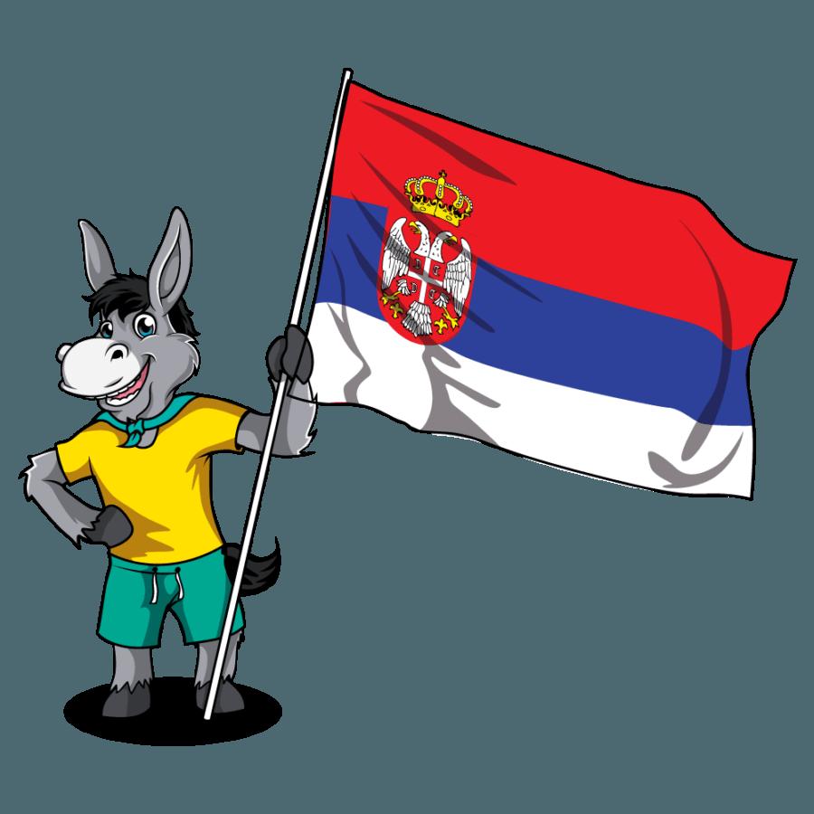 Balkan Flags_Serbia 1