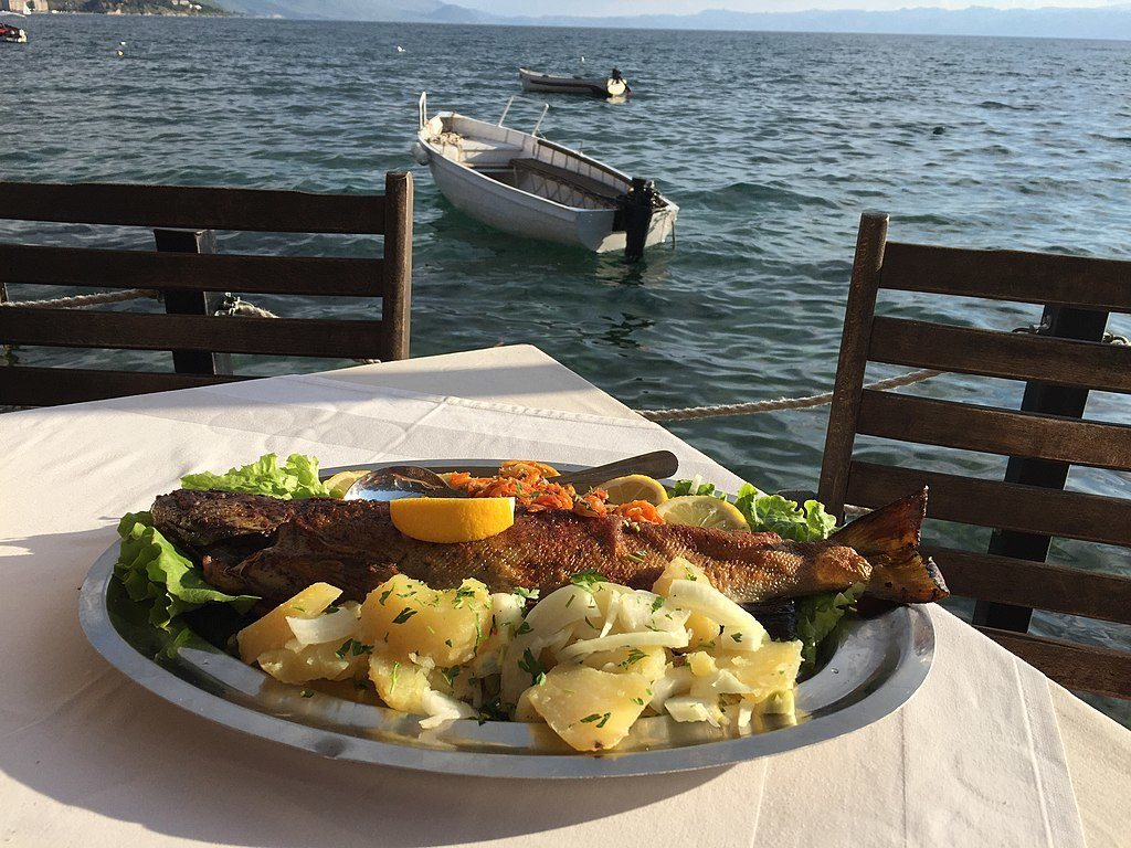 Best Restaurants In Ohrid, Macedonia_Kaneo Bavca