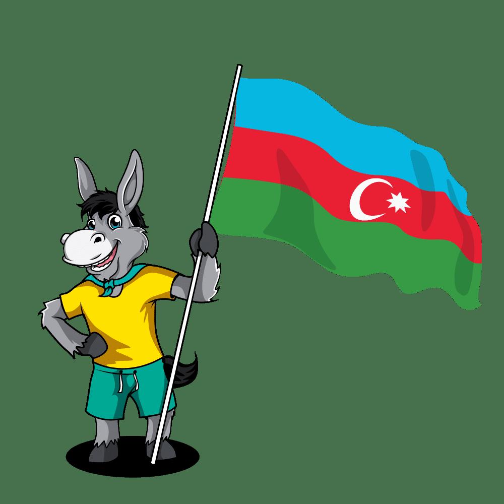 Caucasus Flags_Azerbaijan 2