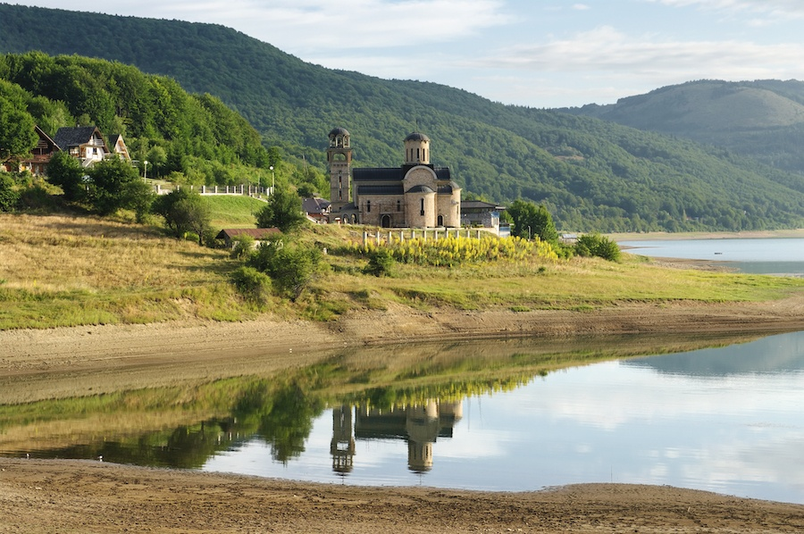 Church St. Nicholas On The Mavrovo Lake National Park Macedonia - Best Day Trips From Skopje