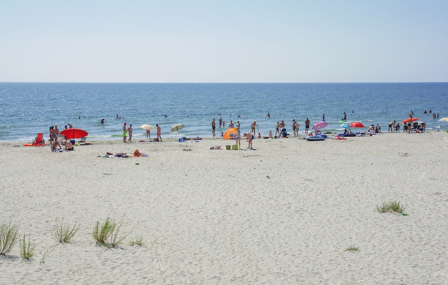Best Beaches In Romania - Corbu beach Romania