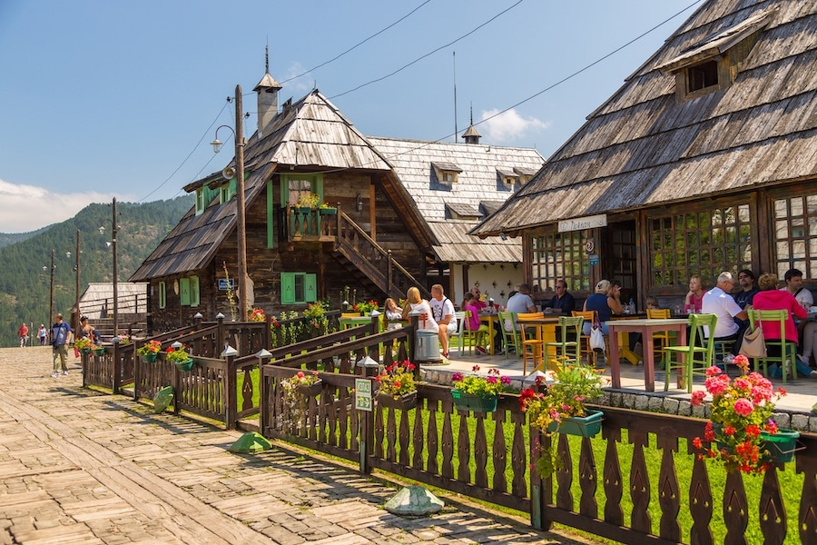 Places to visit in Serbia - Main square Kustendorf