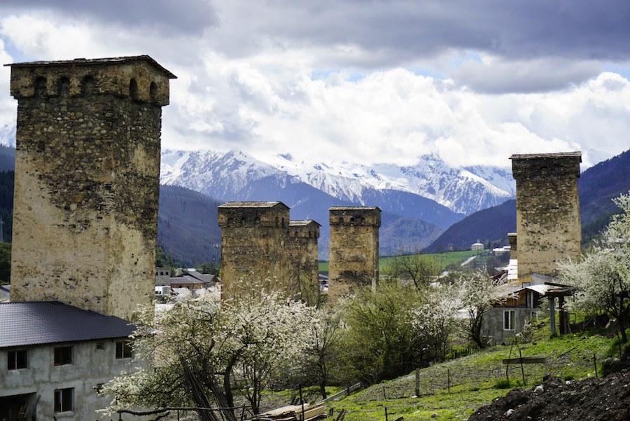 Svaneti Region Georgia _Mestia, Georgia