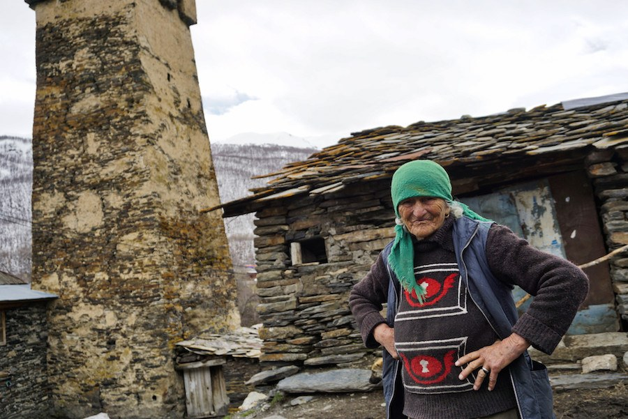 Svaneti Region Georgia _Svan people, Ushguli, Georgia