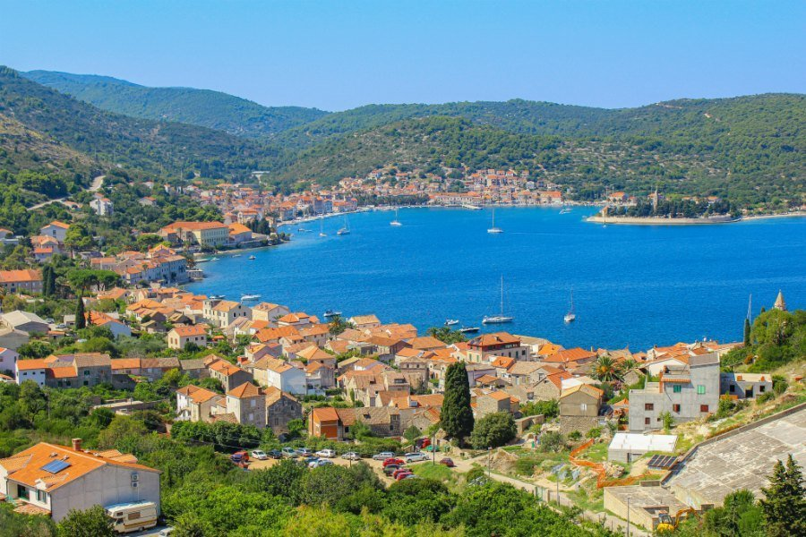 Best Things To Do In Vis Croatia - Vis Island Above