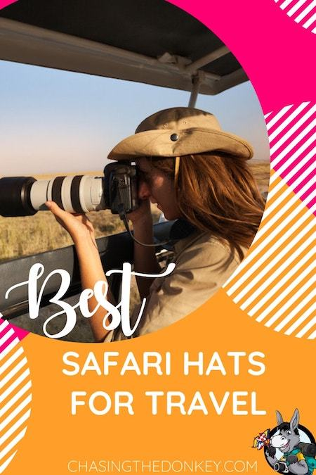 Travel Gear_Best Safari Hats for Travel