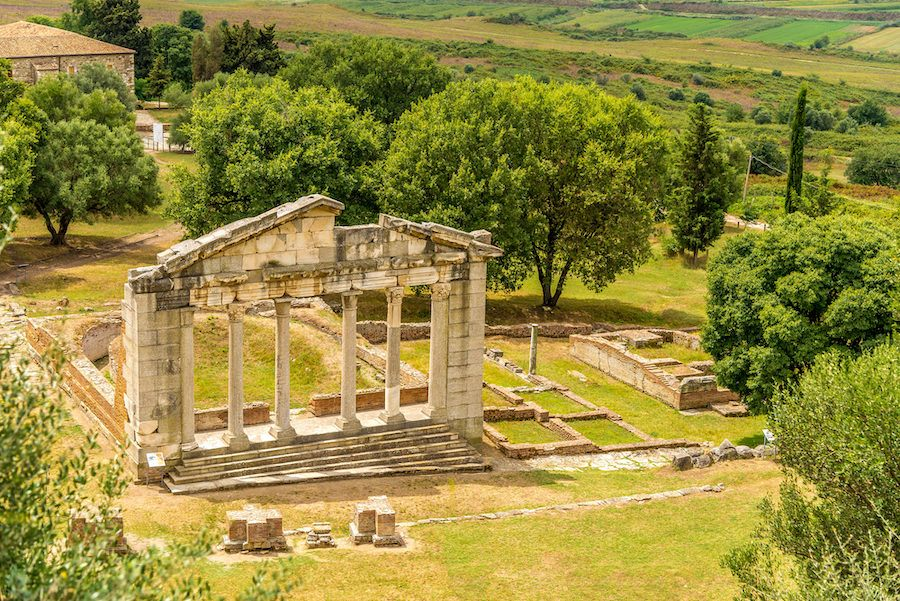 Where To Go In Albania - Temple ruins in Apollonia Albania