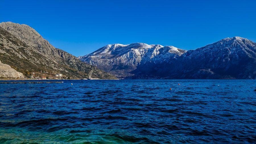Winter In Montenegro - Beaches In winter