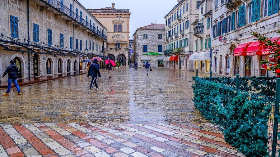 Winter In Montenegro Kotor in Winter