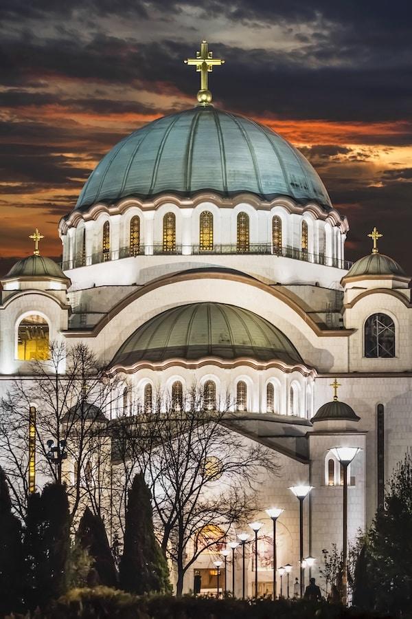 Temple Of Saint Sava, Belgrade Serbia