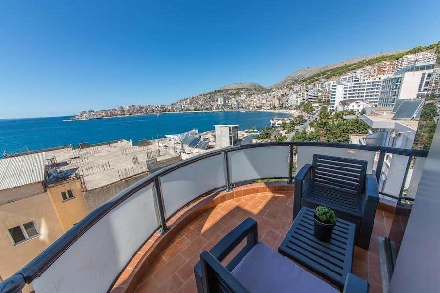 Albania Travel Blog_Where to Stay in Saranda_Hotel Brilant Saranda