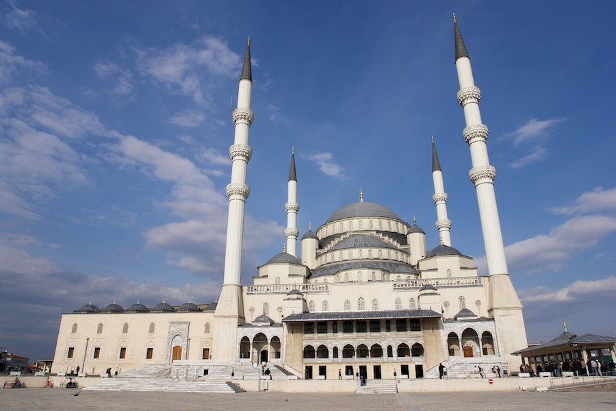 Best Places In Turkey To Visit For Every Kind Of Traveler - Ankara - Kocatepe Mosque