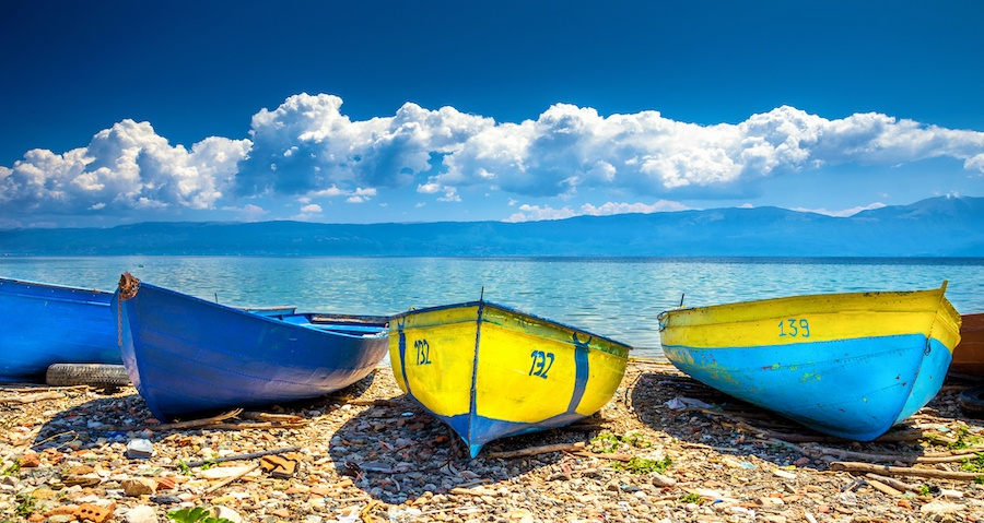 Best Lakes In Albania - Lake Ohrid Albania