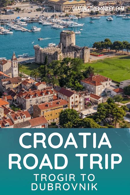 Croatia Travel Blog_Trogir to Dubrovnik Road Trip Itinerary
