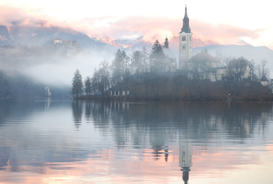 Best Castles In Slovenia - Alamy Church Of The Assumption